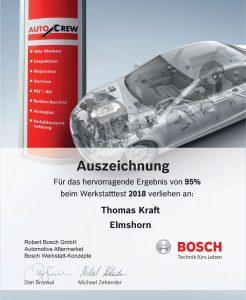 Werkstatttest 2018 - AutoCrew Elmshorn